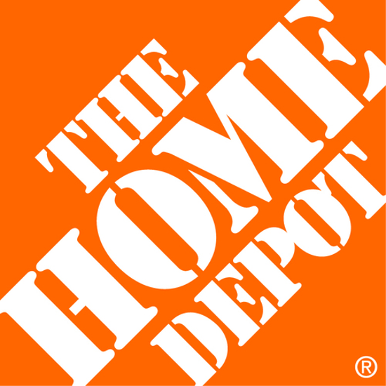 the home depot logo Home